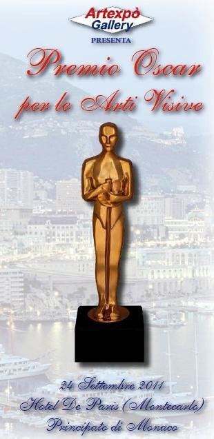 Monica Martins riceve il Premio Oscar per le Arti Visive 2011