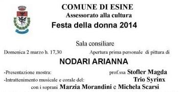 Mostra Arianna Nodari